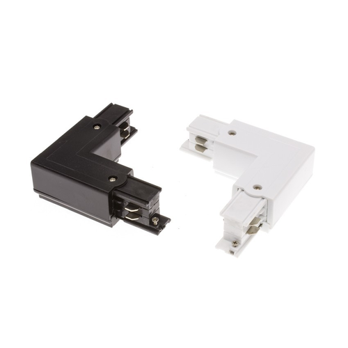 3 fase L-connector wit of zwart