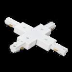 3 fase X-connector wit of zwart