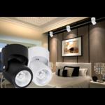 Railverlichting wit of zwart LED 10W dimbaar