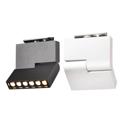 Railspot LED woonkamer wit of zwart 12W