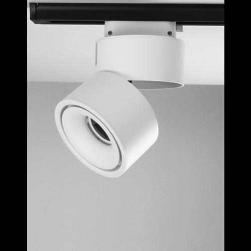 Plafondrail lamp 15W LED wit of zwart