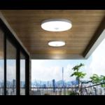 Badkamerlamp met sensor rond 15W LED