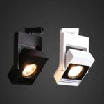 1 fase railspot 30W LED 1 fase wit of zwart