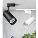 Etalage spot op rail LED 40W dimbaar zwart of wit