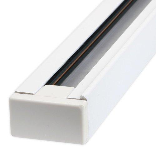 1 fase rail wit of zwart 2m