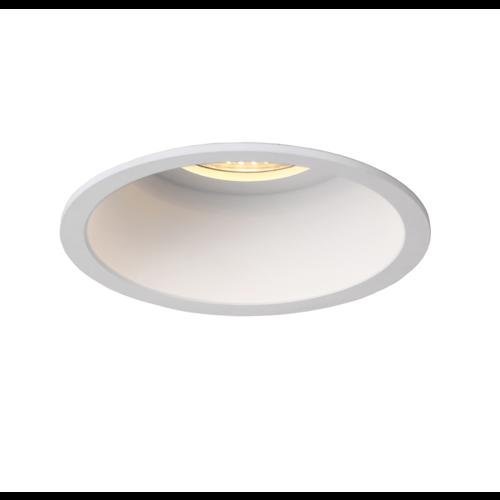 Diepe inbouwspot wit 110mm diameter 230V