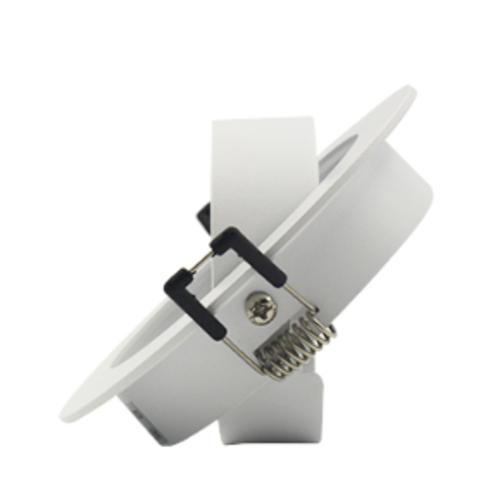 Inbouwspot zaagmaat 75 mm wit richtbaar design