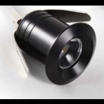Mini inbouwspot IP65 zaagmaat 20mm zwart, grijs of wit