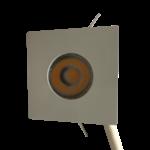 Inbouwspot 30mm zaagmaat wit vierkant 4W dimbaar