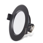 Inbouwspot zaagmaat 65 mm zwart LED 5W dimbaar 35mm hoog