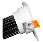 Inbouwspot wit vierkant 12W dimbaar zaagmaat 110mm