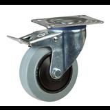 Grå elastiska gummihjul