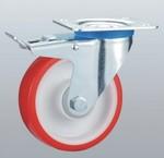Lätta industriella PU-hjul