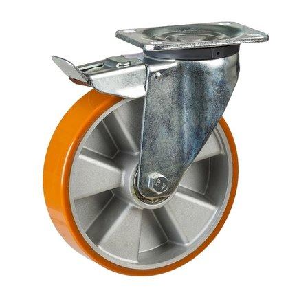 PU-hjul – bärvikt upp till 800 kilo per hjul.