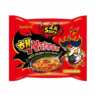 Samyang hot chicken Ramen 2x spicy 140g
