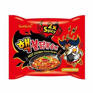 Samyang hot chicken Ramen 2x spicy 140g