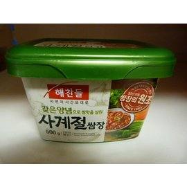 Korean Seasoned soybean paste 500gr