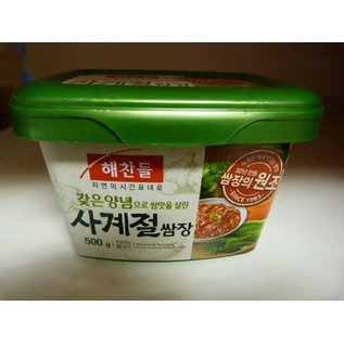 Korean Seasoned soybean paste 500gr