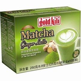 Gold kili matcha ginger drink 10x25gr