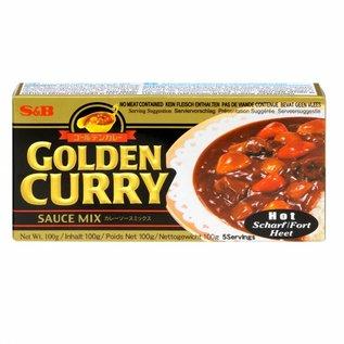 S&B golden curry hot 92gr