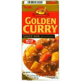 S&B golden curry mild 92gr