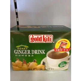 Gold kili honey ginger drink 10x18gr
