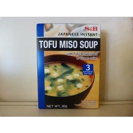 S&B Tofu miso soup 3 zakjes
