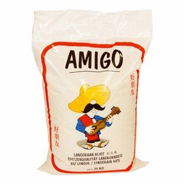 Amigo long grain rice 20kg