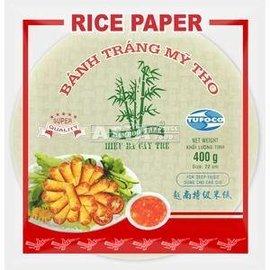 Rijst papier rond (frituren)