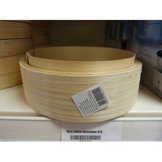 Bamboo steamer 6 inch base
