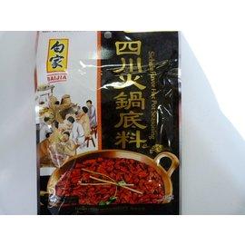 Baijia hot pot base pikant 200gr