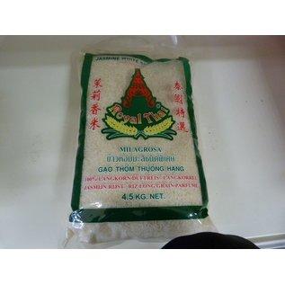 Royal thai jasmine rice 4.5kg