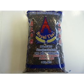 Royal thai zwart kleefrijst 1kg