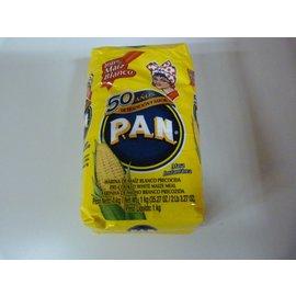 Pan maismeel blanco 1kg