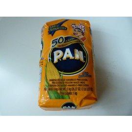 Pan maismeel geel 1kg