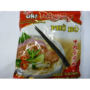 Oh Ricey instant rice noodle beef 70gr
