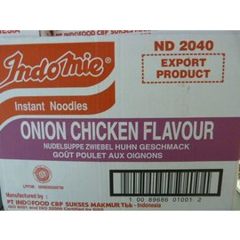 Indomie onion chicken 40x75gr