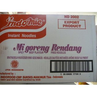 Indomie rendang 40x80gr