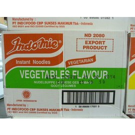 Indomie vegetables 40x80gr