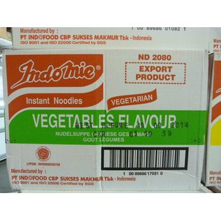 Indomie vegetables 40x80gr