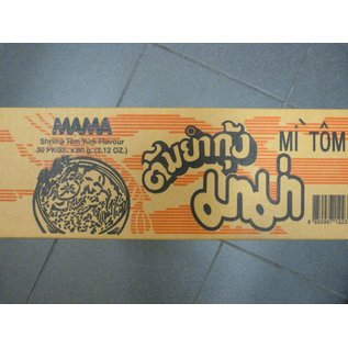 Mama instant noodle TomYum 30x60gr