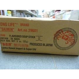 Saimin instant noodle krab 30x85gr