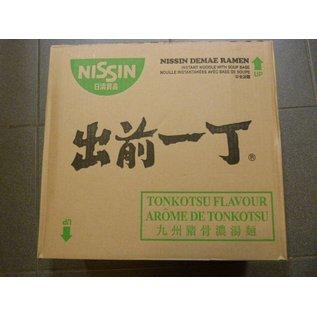 Nissin instant noodle tonkostsu 30x100gr
