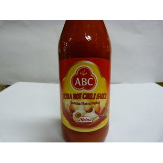 ABC chili saus Extra Pittig 335ml