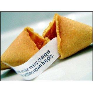 Gelukskoekjes (Fortune cookies) 12 stuks