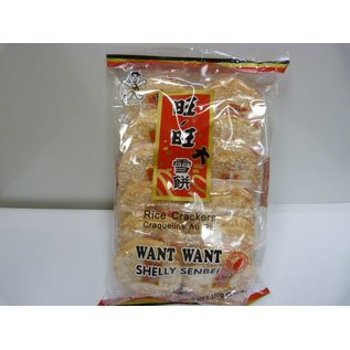Want Want Rijstcrackers (Shelly Senbei) 150g