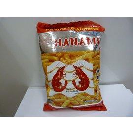 Hanami prawn crackers 60gr
