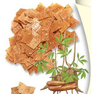 Cassava kroepoek ongebakken 250gr