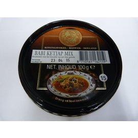 koningsvogel babi ketjap mix 100gr