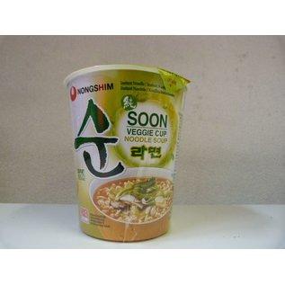Nongshim Veggie cup 67g